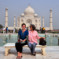 Rada and Nada at Taj Mahal